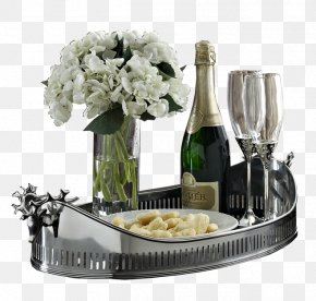 Champagne - Champagne Wine Bottle PNG