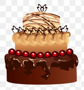 Chocolate Cake - Cupcake Birthday Cake Chocolate Cake Fruitcake Torte PNG