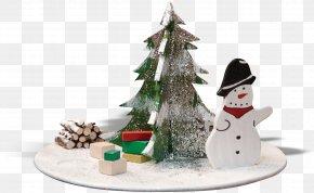Snowman Tree - Ded Moroz Christmas Tree Snowman PNG