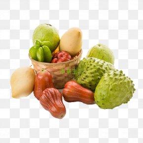 Wax Apple Fruit Picture Material - Java Apple Fruit Vegetarian Cuisine Carambola PNG