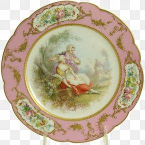 Hand Painted - Tableware Platter Ceramic Porcelain Plate PNG