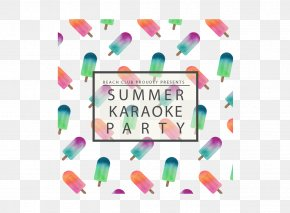 Great Party Vector Material Kara OK - Clip Art PNG