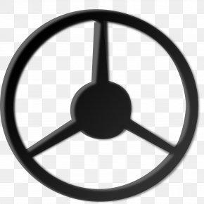 Steering Wheel - Car Steering Wheel Ship's Wheel Clip Art PNG