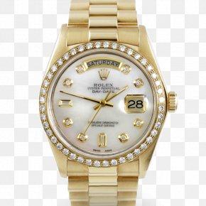 Rolex Daydate - Rolex Datejust Rolex Day-Date Watch Gold PNG