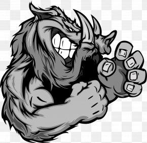 Vector Painted Wild Boar - Wild Boar Logo Royalty-free Clip Art PNG