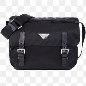 PRADA / Prada Men's Shoulder Bag Nylon Bag - Prada Handbag Gratis Shoulder PNG