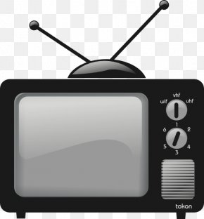 Vintage TV Cliparts - Television Free Content Free-to-air Clip Art PNG