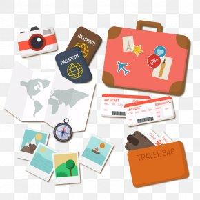 Vector Travel Passport - Travel Euclidean Vector Suitcase Icon PNG