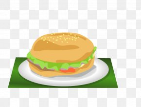 Food Burger - Hamburger Cheeseburger Fast Food Chicken Sandwich Meatloaf PNG