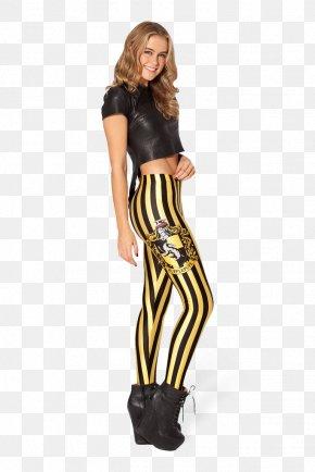 Woman - Helga Hufflepuff Hogwarts Leggings Pants Fashion PNG