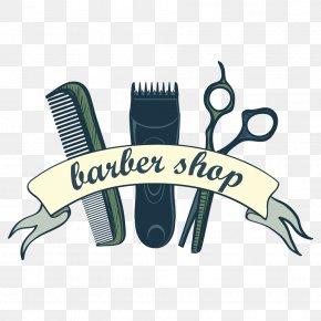 Vector Comb Scissors - Comb Hair Clipper Barber Scissors Illustration PNG