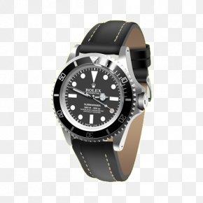 Black Men's Watch - James Bond Rolex Submariner Icon PNG