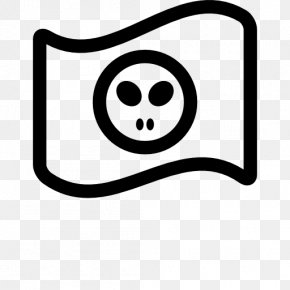Icon Hacker - Jolly Roger Piracy Flag PNG