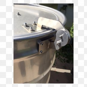 Pellet Drum - Barbecue Smoking Drum Hinge Lid PNG