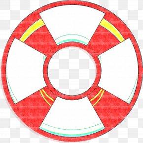 Wheel Symbol - Red Circle Symbol Wheel PNG