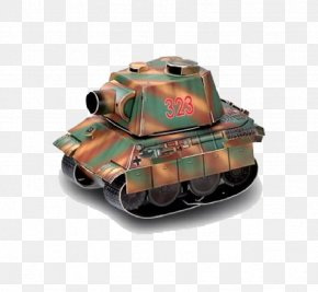 Animation Tank - World Of Tanks Paper Model Airplane PNG