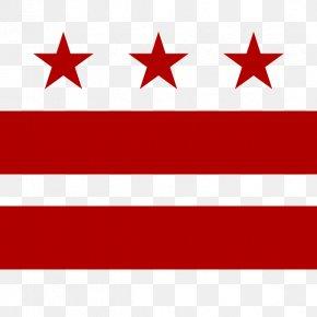 Flag - Flag Of Washington, D.C. PNG