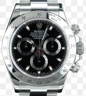 Watch - Rolex Daytona Platinum Watch Strap PNG