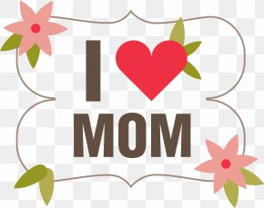 Love Letter Background Vector Elements - Mothers Day Flower PNG