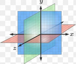 Plane - Plane Cartesian Coordinate System Three-dimensional Space Geometry PNG