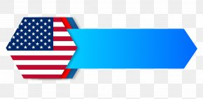 Vector American Flag Title Box - Flag Of The United States Gadsden Flag PNG