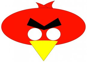 Angry Pictures - Angry Birds Star Wars II Mask Clip Art PNG