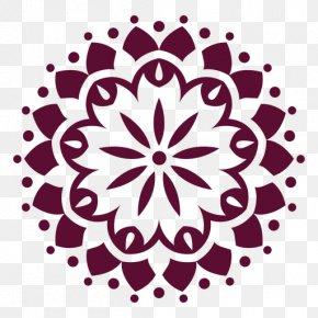 Flower Symmetry - Floral Flower Background PNG