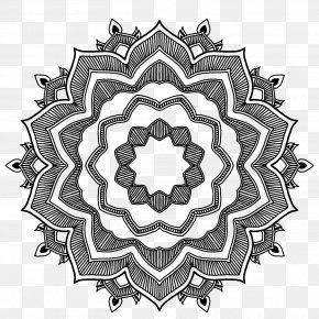 India Pattern - Mandala Geometric Shape Drawing Geometry PNG