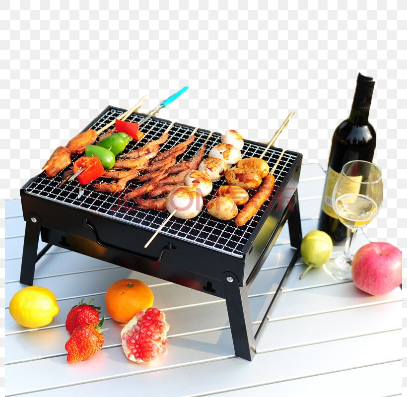 Barbecue Kebab Satay Portable Stove Grilling, PNG, 800x800px, Barbecue, Animal Source Foods, Barbacoa, Barbecue Grill, Brochette Download Free