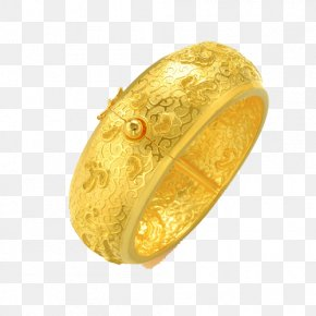 Chow Sang Sang Gold Jewelry Dragon Gold Bracelet Marriage Dowry Essential 49361K Two - Ring Bracelet Gold Bangle Jewellery PNG