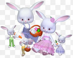 Easter - Easter Bunny Rabbit Holiday Clip Art PNG