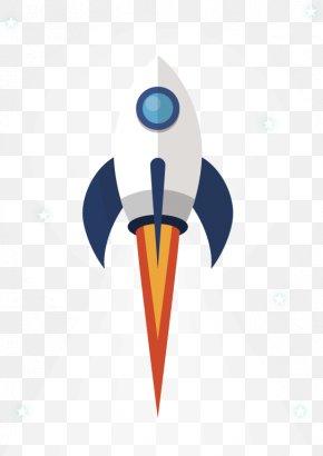 Cartoon Rocket - Flight Rocket Spacecraft PNG