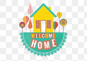 Welcome Home Illustration Retro Style Stitching - Human Resource Management Human Resources Recruitment Senior Management PNG