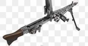Machine Gun - MG 42 M60 Machine Gun Firearm Weapon PNG