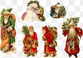 Santa Claus - Pxe8re Noxebl Ded Moroz Santa Claus Snegurochka Reindeer PNG