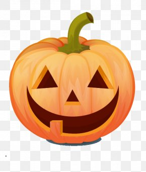 Vector Pumpkin - Halloween Jack-o'-lantern Pumpkin Clip Art PNG