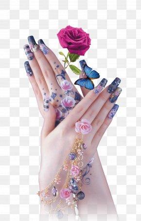 Nail Gesture - Nail Polish Gel Nails Manicure Nail Salon PNG