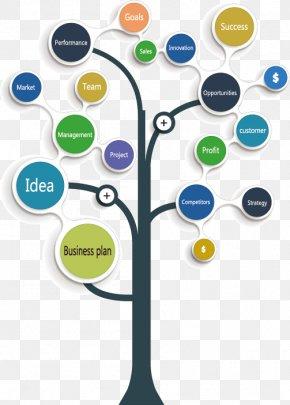 Vector Business Diagram Tree - Tree Diagram Tree Diagram Graph PNG