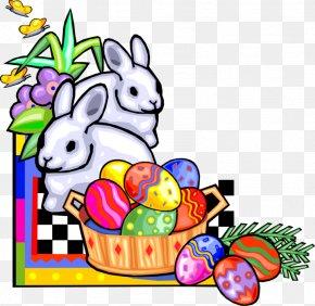 Easter Clip Art Egg HuntEaster - Easter Bunny Lent PNG