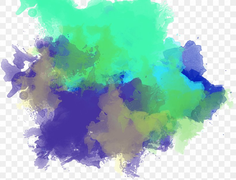 Watercolor Painting Brush Png 1668x1275px Watercolor Painting Blue Brush Color Film Download Free