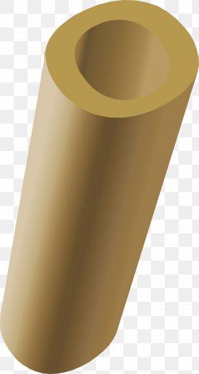 Brass - Cylinder Clip Art PNG