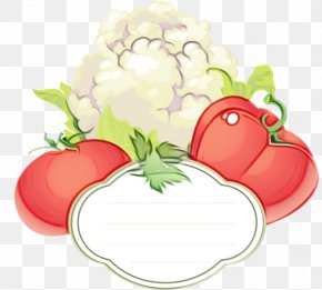 Vegan Nutrition Fruit - Tomato Cartoon PNG