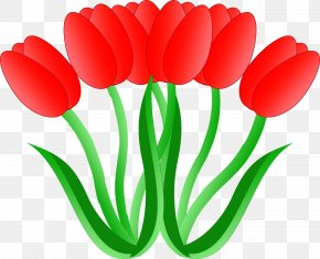 Tulip - Tulip Cross-stitch Embroidery Sewing PNG