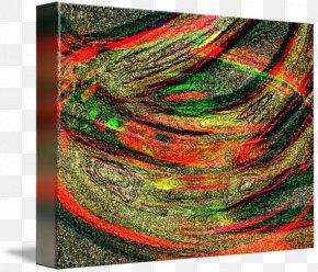 Fibre Optic - Yarn Gallery Wrap Canvas Wool Art PNG