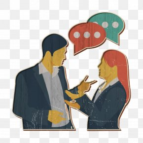 Gesture Fictional Character - Conversation Icon Human Resources Icon PNG