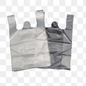 Black And White Plastic Bags - Plastic Bag PNG