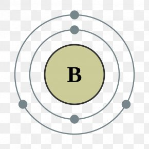 Electron House - Electron Shell Valence Electron Bohr Model Chemical Element Boron PNG