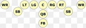 American Football - American Football Positions Slotback Formation Quarterback PNG