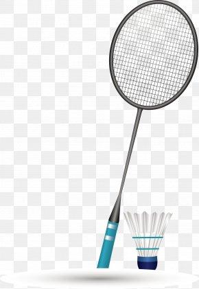 Sports Equipment Badminton Vector Material - Badmintonracket PNG