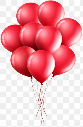 Red Balloons Clip Art Image - Red Balloon Clip Art PNG